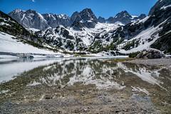 Seebensee und Drachenkopf (stefangruber82) Tags: tirol tyrol alps alpen spring frühling reflection spiegelung bergsee berge mountainlake lake snow schnee