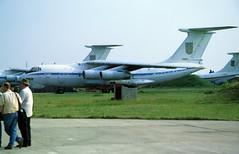76661 - Melitopol Air Base (OOX) 27.05.2002 (Jakob_DK) Tags: il76 il76md ilyushin ilyushinil76 il76candid ilyushin76 ilyushin76md ilyushinil76md cargo ukdm oox melitopol melitopolairbase ukrainianairforce 2002 76661