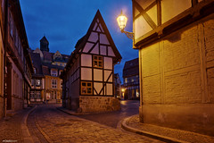 Quedlinburg Nightline (hherrlich) Tags: quedlinburg hherrlich hergenweyrich finkenherd altstadt sachsenanhalt deutschland heinrichi