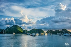 Halong Bay (Halong Bay Vietnam - Du Lịch Vịnh Hạ Long) is one of the most beautiful offering to Vietnam by nature. I took this picture of sunrise to Ha long Bay as soon as I woke up from my sleep. #TKclicks #wanderlust #visitvietnam #vietnamcharm #ig_viet (TKClicks) Tags: ifttt instagram halong bay vietnam du lịch vịnh hạ long is one most beautiful offering by nature i took this picture sunrise ha soon woke up from sleep tkclicks wanderlust visitvietnam vietnamcharm igvietnam halongbay skyporn clouds mountains cruise water blue nikonphotography instagood instadaily