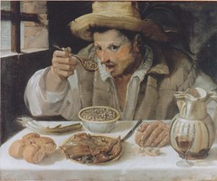 Annibale Carracci, Der Bohnenesser (The bean eater (HEN-Magonza) Tags: rom roma rome italien italy italia palazzocolonna galleriacolonna annibalecaracci derbohnenesser thebeaneater ilmangiafagioli rionetrevi