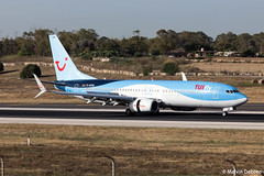 TUIfly Boeing 737-8K5  |  D-ATUR  |  LMML (Melvin Debono) Tags: tuifly boeing 7378k5 | datur lmml cn 41664 melvin debono spotting canon eos 5d mark iv 100400mm plane planes photography airport airplane aircraft malta mla spotters spotter