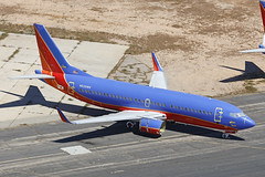 N636WN, Boeing 737-300, Southwest Airlines, Victorville - California (ColinParker777) Tags: n636wn boeing 737 733 b737 b733 b737300 737300 27709 2814 7373h4 b7373h4 aircraft airliner airplane plane aviation fly flying flight stored storage store disunsed unused retired retirement retire scrap spares southwest wn swa airlines airways air california victorville southern logistics airport socal usa united states america us engineless air2ground canon dslr spotting spotters fromabove 5dsr 100400 mkii mk2 lens zoom telephoto pro