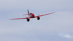 Comet (Bernie Condon) Tags: uk british shuttleworth collection oldwarden airfield airshow display aviation aircraft plane flying festivalofflight june2019 de havilland dh88 comet racer racing vintage preserved classic