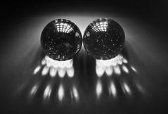 Mono Marbles..x (Lisa@Lethen) Tags: macromondays childhoodtoys marbles mm hmm mono bw light torch macro