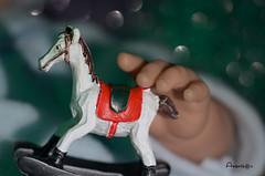 Childhood Toys_MM (Anavicor) Tags: childhoodtoys mm macromondays hmm anavillar anavicor villarcorreroana caballito caballo balancín horse juguete mano hand main doll muñeco baigneur pantim macro chevalàbascule jouet joujou nikon d5300 tamron90mm