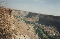 Photo d'un Wadi affluent de l'Hadramaout (Jauss) Tags: واديحضرموت اليَمَن yémen yemen wadi hadramaout plateau hadhramaut