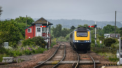 43125 arrives in Montrose (robmcrorie) Tags: 43125 hst high speed train intercity 125 class 43 scotrail montrose station signal box semaphore 1z10 nikon d850