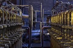 . a yellow submarine (. ruinenstaat) Tags: ruinenstaat tumraneedi hfb industry industrial abandoned lostplace urbex