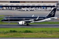 Starflyer | Airbus A320-200 | JA24MC | Tokyo Haneda (Dennis HKG) Tags: starflyer sfj 7g aircraft airplane airport plane planespotting canon 7d 100400 tokyo haneda rjtt hnd airbus a320 airbusa320 sharklets ja24mc