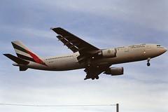 A6-EKF A300 Emirates LHR 19-06-93 (cvtperson) Tags: a6ekf a300 emirates london heathrow lhr egll