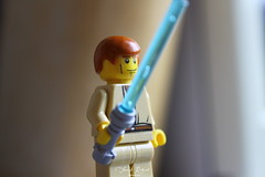 may the force be with you (Franck.Robinet) Tags: macromondays lego starwars jedi childhoodtoys