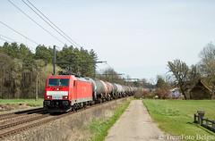 DB-Cargo 186 330 Testelt (TreinFoto België) Tags: 186 330 traxx ms f140 dbcargo ecr petroltrein 47068 exxon esso testelt lijn 35 bombardier belgië belgium belgien belgique