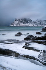 Uttakleiv Beach (virtualwayfarer) Tags: norway norwegian nordic lofoten travel mountains landscape peaceful fjord arcticcircle travelphotography sonyalpha a7rii wild exploring roadtrip adventure explore travelphotographer adventurephotography northernlatitude indietravel snow cold weather march snowy calm arctic valley aweinspiring scandinavian dramaticlight arcticphotography dramaticnature longexposure sea seascape landscapes frozen seaside snowstorm coldweather challenging snowcovered conditions naturephotography tidalpools singleshot dramaticweather uttakleiv thedragonseye uttakleivbeach norwegianadventure visittonorway visittolofoten traveling travelinspiration photodestination norwegianroadtrip