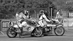 Moto Légende 2019 (Laurent Quérité) Tags: circuitdijonprénois kawasaki dijon côtedor france moto 2roues sportmécanique motolégende godiergenoud canonfrance canoneos7d canonef100400mmf4556lisusm noirblanc blackwhite