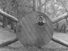 (Attila Pasek (Albums!)) Tags: wood analogue playground bronicasqa delta mediumformat portrait camera 120film 400 blackandwhite ilford film bw