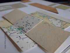 A special collection (Landanna) Tags: paperart paperwork paper papier papir ledger visualdiary sketchbook journal artjournal colourstudy contemporary design upcycling recycling
