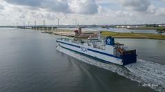 SCA Obbola (Peet de Rouw) Tags: scaobbola roro cargoship scheur nieuwewaterweg portofrotterdam port aerial drone dronephotography djimavicplatinum peetderouw holland netherlands
