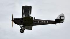 DH 51 (Bernie Condon) Tags: dh51 biplane gegir tourer dehavilland vintage preserved uk british shuttleworth collection oldwarden airfield airshow display aviation aircraft plane flying festivalofflight june2019