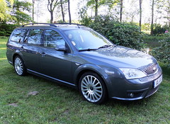 Ford Mondeo MkIIIc Turnier ST220 (Zappadong) Tags: ford heckschleudertreffen brockhöfe 2019 mondeo mkiiic turnier st220 zappadong oldtimer youngtimer auto automobile automobil car coche voiture classic classics oldie oldtimertreffen carshow