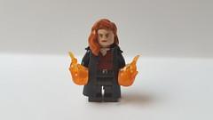 So here we got Sansa...uhm...Jean Grey / Dark Phoenix (Fabiwalker2187) Tags: x men xmen dark phoenix jean grey mutant lego custom minifigure marvel fox mcu sophie turner superhero supervillain