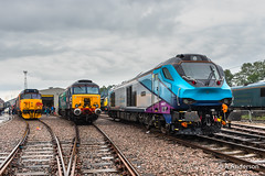 68027 20190608 Crewe (steam60163) Tags: crewe creweopenday class68 68027 transpennineexpress transpennine drs directrailservices 57307 50049