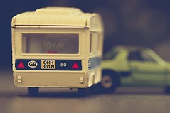 summertime (JossieK) Tags: corgi toys childhood miniature caravan fiatxi madeingb holiday macromondays childhoodtoys