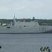 Carrier Juan Carlos I leaving Port