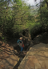 Climbing down (aniko e) Tags: basalt basaltpillars rocks volcanic hiking climbing spring outdoors szentgyörgyhegy kisapáti hungary balatonfelvidékinemzetipark balatonuplandsnationalpark balaton