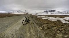 trial (Mikalin Aleksey) Tags: sonyilce6000 landscape snow summer mountains bicycle yamal road mikalin panorama панорама полярный урал дорога велосипед пейзаж горы лето конгорхром
