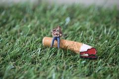 Smokin' riff (amanda_shirlow) Tags: miniature macro microworld microscopic littlepeople preiser puns ho