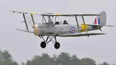 Tiger Moth (Arndted) Tags: dehavillanddh82tigermoth dehavillanddh82 dehavilland dh82tigermoth dh82 tigermoth flygfesten2018dalajärna flygfesten2018 flygfesten dalajärna biplane aircraft airshow airplane aviation flygplan flying nikon d300s sigma ex100300f4 sweden sverige