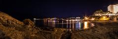 Platja de la Romana, Paguera, Calvià (BMelzer Fotografie) Tags: mallorca mittelmeer mediterranean sea serradetramuntana panorama longexposure