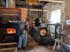 IMG_20190608_102237 (clefq) Tags: smpoole google pixel 2 htc mobile cell phone canada spring ontario upper village june 2019 cotton mill steam engine boiler