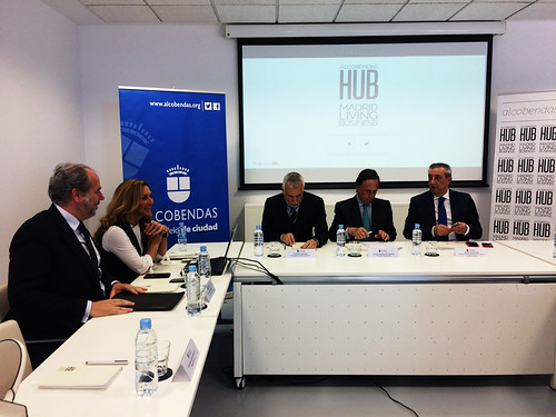 Encuentro ALcobendas Hub empresas italianas en Alcobendas