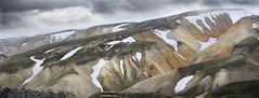 Landmanalaugar . Highland. Iceland (ibethmuttis) Tags: landmanalaugar highland iceland mountains snow clouds colors nikond300s ibeth altzo70 nature scenery