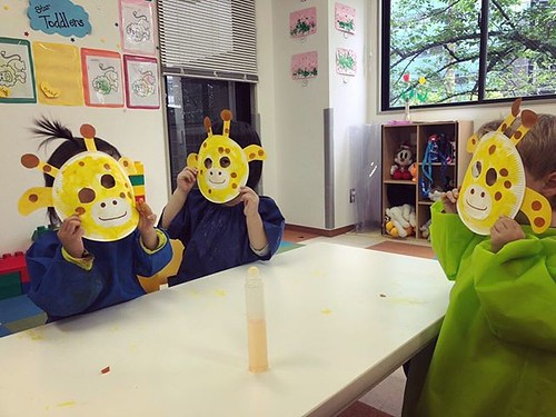 Hello little giraffes! Have you seen our Star Kids? 💕 #tokyo #internationalpreschool #daycare #kindergarten #cutekids #幼稚園 #保育園 #制作 #芝公園 #東京 #子ども