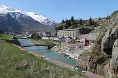 Andermatt - Urnerloch (Kecko) Tags: 2019 kecko switzerland swiss schweiz suisse svizzera innerschweiz zentralschweiz uri gotthard schöllenen river reuss fluss urnerloch water intake swissphoto geotagged geo:lat=46645060 geo:lon=8591090