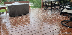 June 8, 2019 - Hail in Broomfield. (David Canfield)