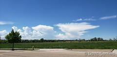 June 6, 2019 - Storm clouds build. (David Canfield)