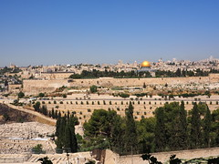 Jerusalem (diskdoc) Tags: jerusalem olympus mount olives jewish graveyard mosque city walls scenicsnotjustlandscapes