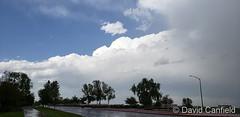 June 8, 2019 - Storm clouds build. (David Canfield)