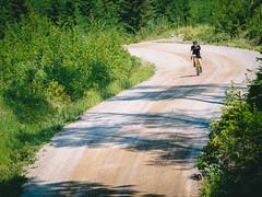 Nordic Gravel Series: Mäntyharju (miemo) Tags: eteläsavo europe finland mäntyharju southernsavonia bend cycling cyclist downhill em5mkii gravel gravelbike gravelroad hill olympus olympus40150mmf456 omd road summer