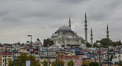 Suleymaniye Mosque in Istanbul, Turkey (phuong.sg@gmail.com) Tags: sinan ancient arches architect architecture blue building city cityscape clouds court day domes europe exterior facade famous fatih heritage historic islamic istanbul landmark medieval minaret mosque muslim old oldtown oriental ottoman park prayer religion sky stone suleymaniye sunrise sunset tourism travel turkey wall