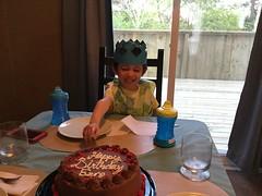 Ezra's Third Birthday (brownpau) Tags: cake birthday ipadair2 ezra ezraordo