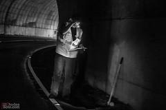Tunnel survey (BillRhodesPhoto) Tags: billrhodes asheville nc blueridgeparkway worker nps