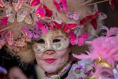 Butterfly lady (Gabi Breitenbach) Tags: fccmagicnight venezia carnival venice märz march carnevale venedig butterflies schmetterling farfalle maske mask lady costume kostuem verkleidung
