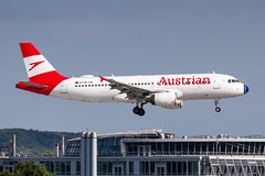 OE-LBL Austrian Airlines Airbus A320-214 (buchroeder.paul) Tags: eddl dus dusseldorf düsseldorf international airport germany europe final oelbl austrian airlines airbus a320214
