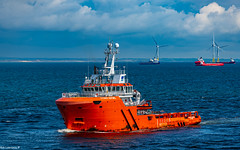 Cygnus Sentinel Arriving Aberdeen Harbour 10/06/2019.