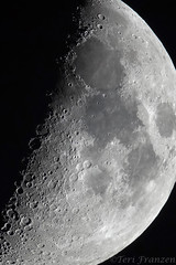 The Terminator (tkfranzen) Tags: moon luna terminator astromony nightsky naturephotography nature craters